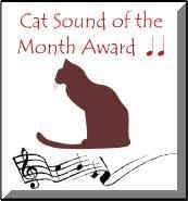 Cat Sound of the Month